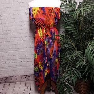 Cynthia Rowley Sheer Dress